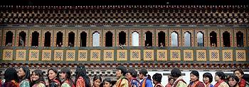 There are many ethnic groups in Bhutan and no one group is the majority.