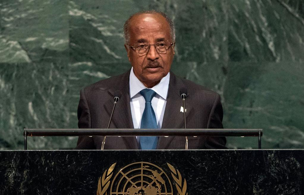 Eritrea Profile, Saturday, October14, 2017 2 Eritrean position and its reception on 72nd session of UNGA Simon Weldemichael Recently, world leaders assembled for the 72nd session of the United