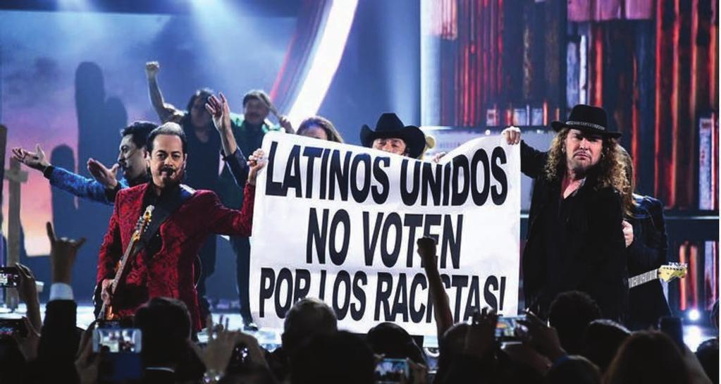 ENGAGE Civic Engagement Voto Latino on Tour From Maná to Los Tigres del Norte to George Lopez to Lila Downs, we were online and on the ground in 2015 registering voters with the support of well-known
