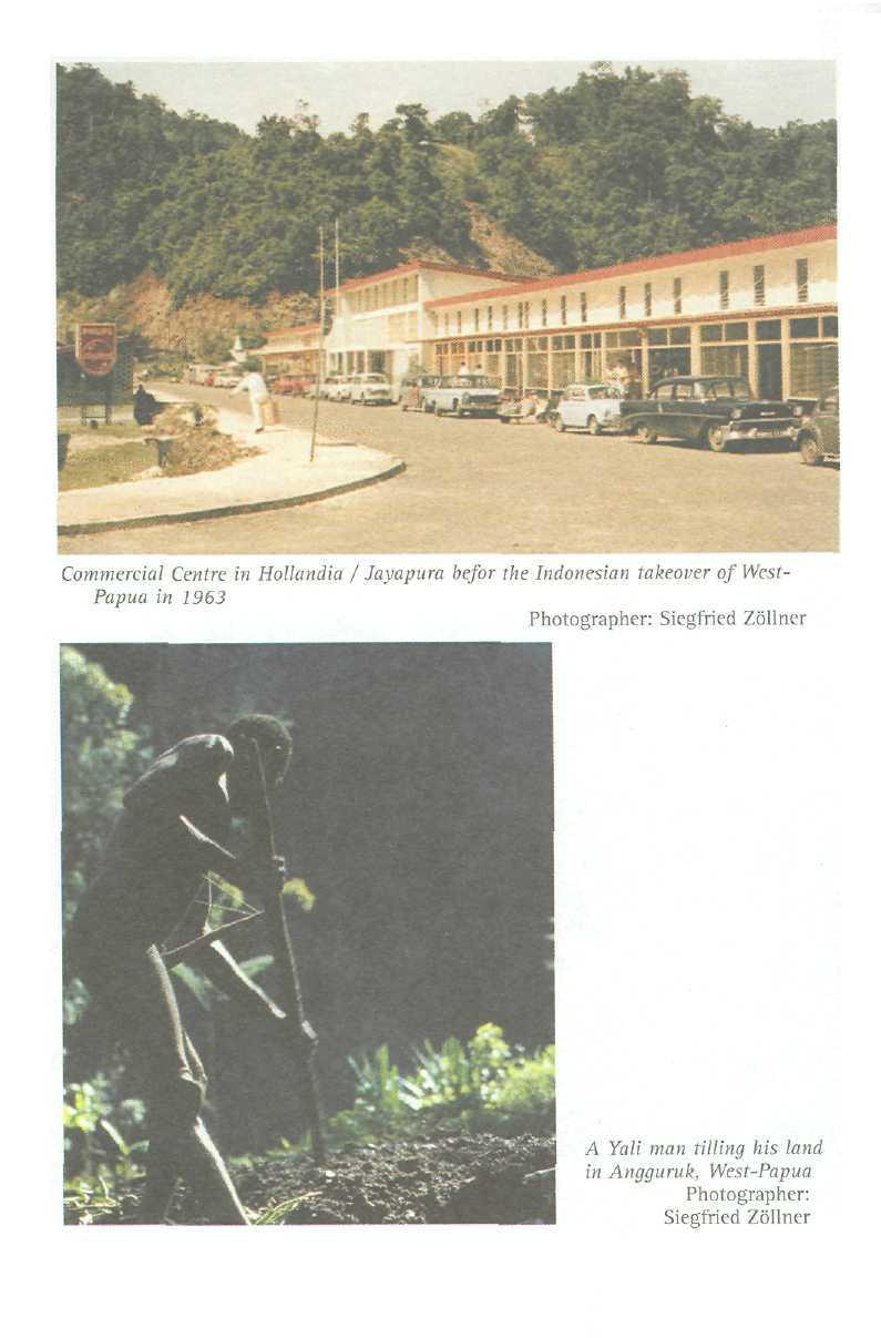 Commercial Centre in Hollandia / Jayapura befor The Indoncsian takeover of West- Papua in 1963