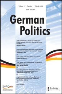 This article was downloaded by: [Universitaetbibliothek Mannheim] On: 16 September 2008 Access details: Access Details: [subscription number 789268332] Publisher Routledge Informa Ltd Registered in