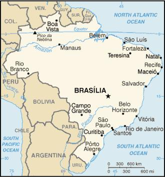 PROVENTION CONSORTIUM Community Risk Assessment and Action Planning project BRAZIL Minas Gerais and Rio de Janeiro Copyright 2002-2005, Maps-Of-The-World.