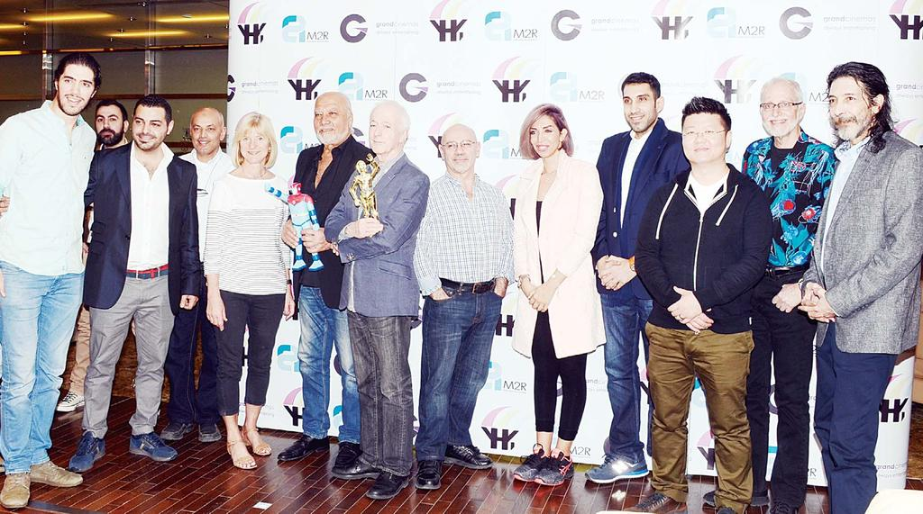 LOCAL 4 Group photo from the event Grand Cinemas welcomes celebrities, media and platinum guests Kuwait