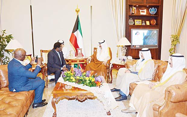 Kuwait. Al-Jarallah received credentials of the newly appointed ambassador of the Kingdom of Norway to Kuwait.
