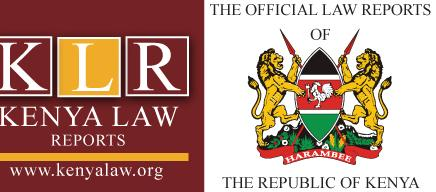 LAWS OF KENYA The Constitution of