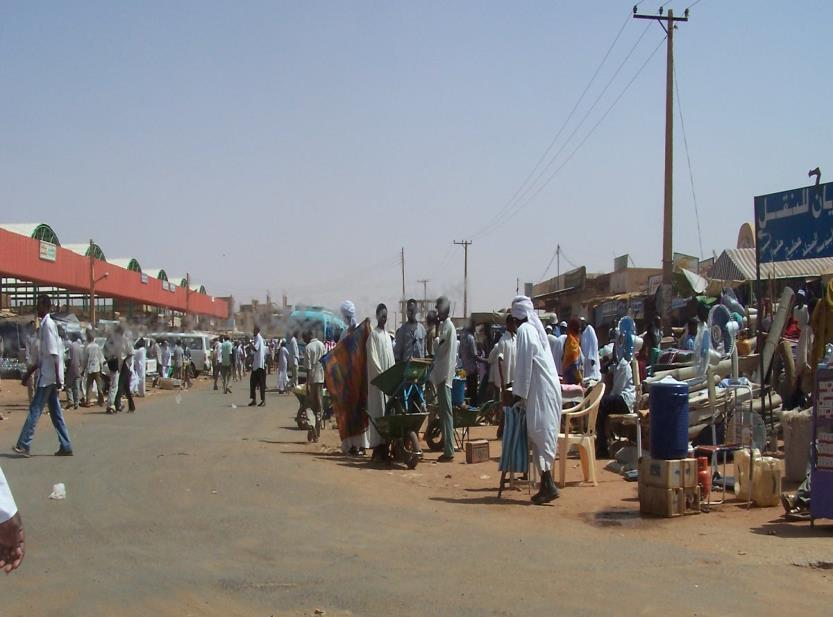Flight to Khartoum Several million southern and western Sudanese have escaped the war conditions of