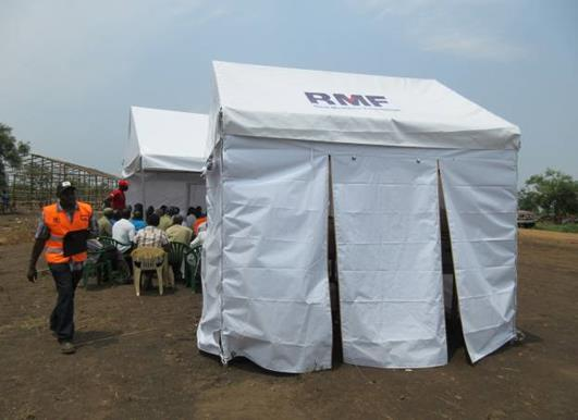 RMF was named UNHCR Health Implementing partner for Bidibidi, and with the approval of RMF Founder and CEO, Dr.
