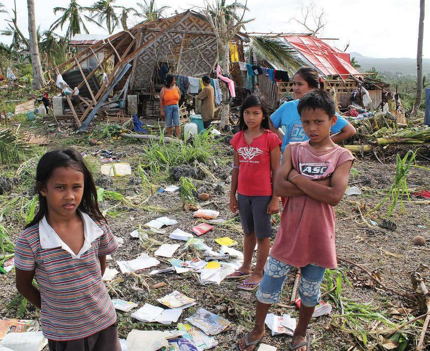 ORG A FREE PAPER FOR FREE KIDS ISSUE #43 JANUARY/FEBRUARY 2014 Typhoon Haiyan and the UN Climate Change