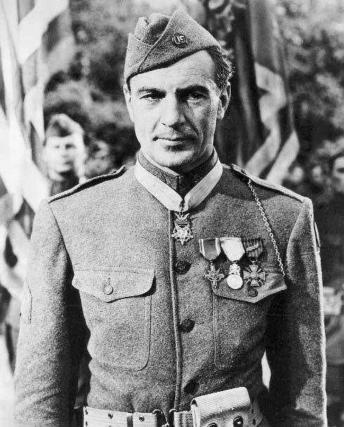 Sergeant York (1941): a chestful of medals in the good fight for freedom and democracy. picked up the theme.