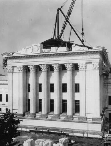Marbury was the first crucial step toward establishing the authority of the Supreme Court, but it wasn t until 1935 that the Court, long a tenant in the U.S. Capitol building, got a home of its own.