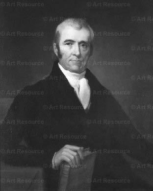 John Marshall (portrayed in 1831) said that a constitution must approach immortality. conclusion. Why, if he were to ask me whether it was daylight or not, I d reply, Sir, I don t know. I can t tell.