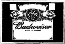 Anheuser-Busch and its predecessors had used substantially the same label in Canada since the 1880s for its top-selling BUDWEISER beer.