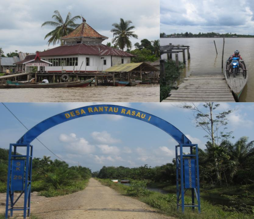 Figure 3 The First Transmigration Pilot Project in Jambi: Dusun Pembangunan-Desa Rantau Rasau (Development Hamlet-Rantau Rasau Village), East Tanjung Jabung District R.