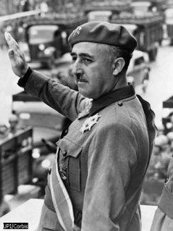 Civil War in Spain In 1936, Loyalists defeated Spain s elected republican government against Francisco Franco s fascist movement.
