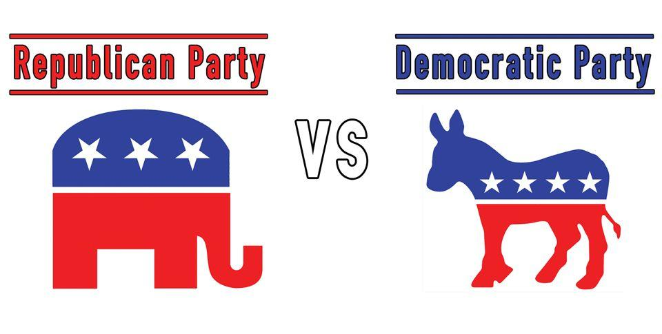 The Two-Party System A political party logo is a symbol that represents the entire party.