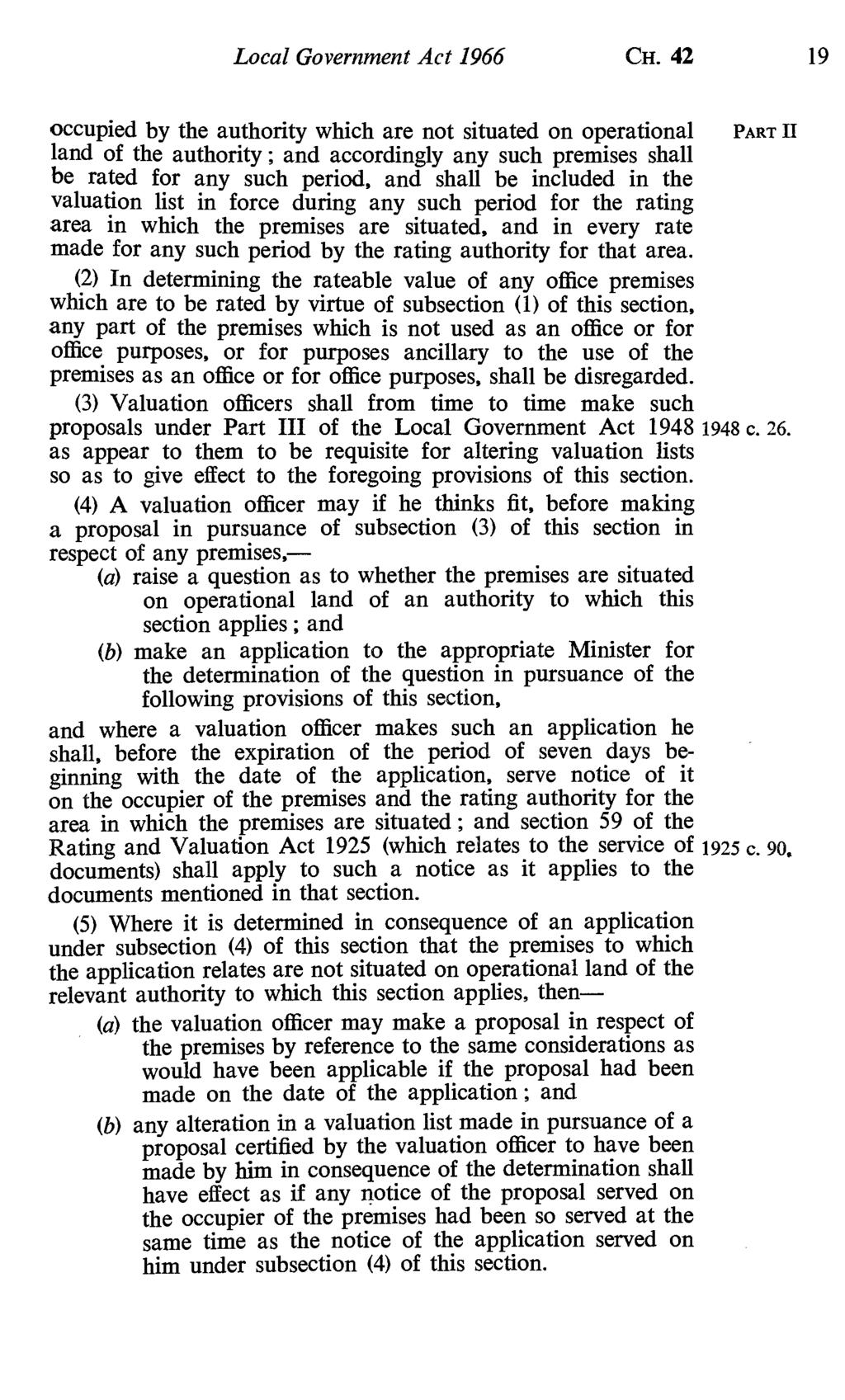 Local Government Act 1966 CH.
