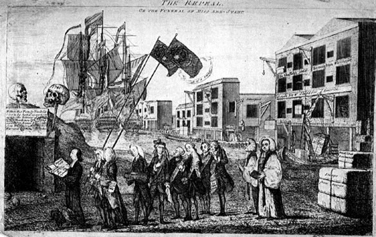 New York City Belief that Britain had no right to force laws on colonists. Why? Colonists had NO REPRESENTATION!