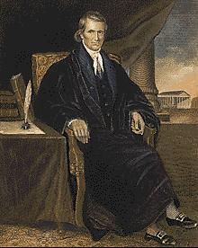 Marbury v. Madison (1803) William Marbury sued Sec of State James Madison for his appointment (justice of the peace for the D.C.
