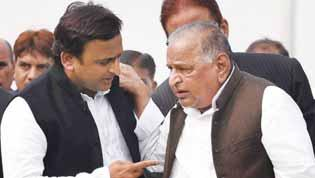 Mulayam also said that it be conveyed to the EC that the memorandum should be treated as submitted by him, the national president of the party.