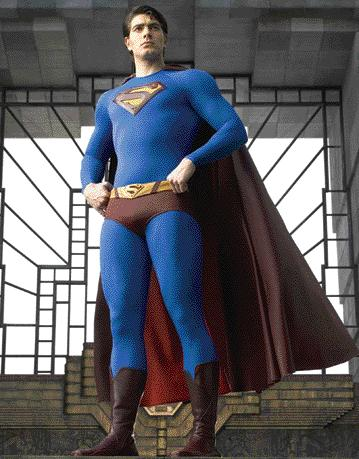 LAND LAW DEED PIC: REX FEATURES Superman he knows
