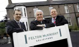 spells brightest future Felton McKnight Solicitors have moved to bigger and brighter offices in
