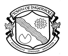 CORPORATION OF THE TOWN OF INGERSOLL BY-LAW NO. 13-47