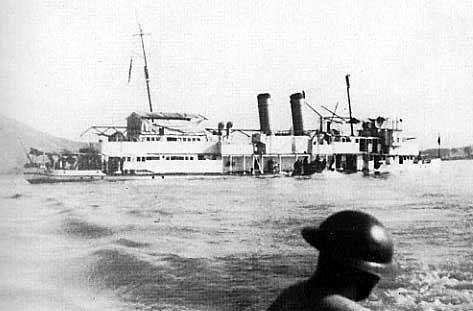 Panay Incident (1937) December 12, 1937. Japan bombed USS Panay gunboat & three Standard Oil tankers on the Yangtze River. The river was an international waterway. Japan was testing US resolve!