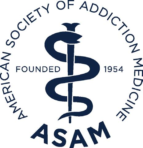1 AMERICAN SOCIETY OF ADDICTION MEDICINE