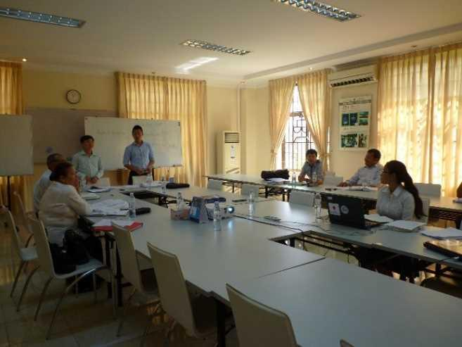 Working Group in Cambodia