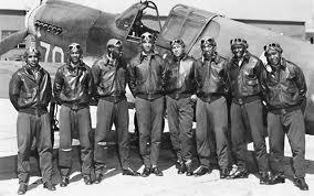 WWII at Home African-Americans Segregated military until 1948 Tuskegee Airmen-first black pilots