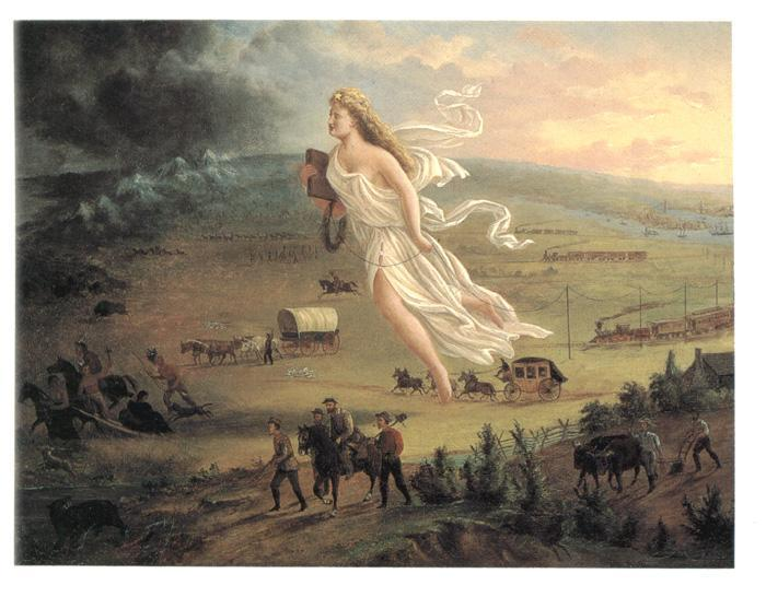 Manifest Destiny Belief that the United States had a mission