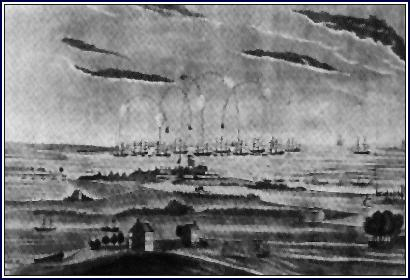 ATTACK ON FORT MCHENRY