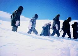 POLICE FORCES Patrolling in Snow by ITBP Troops besides providing assistance in Disaster Management in the central and western Himalayan regions. 6.29 A five-year modernization plan involving Rs.187.