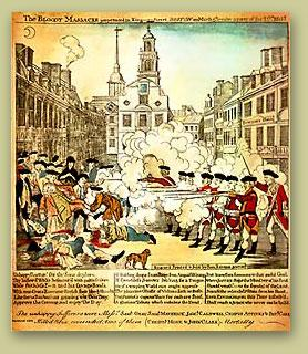 The Boston Massacre The colonists did not like having the British soldiers in their city and homes.
