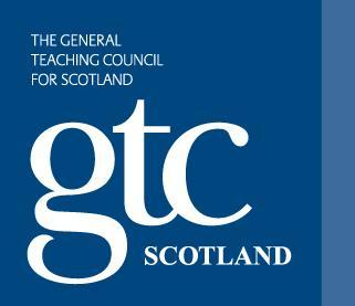 DRIVING FORWARD PROFESSIONAL STANDARDS FOR TEACHERS The General Teaching Council for