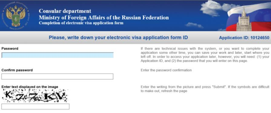 Important Tourist Visa Instructions for Russia Please read very carefully and refer to the following page-by-page instructions for specific information on how to complete Russia online application