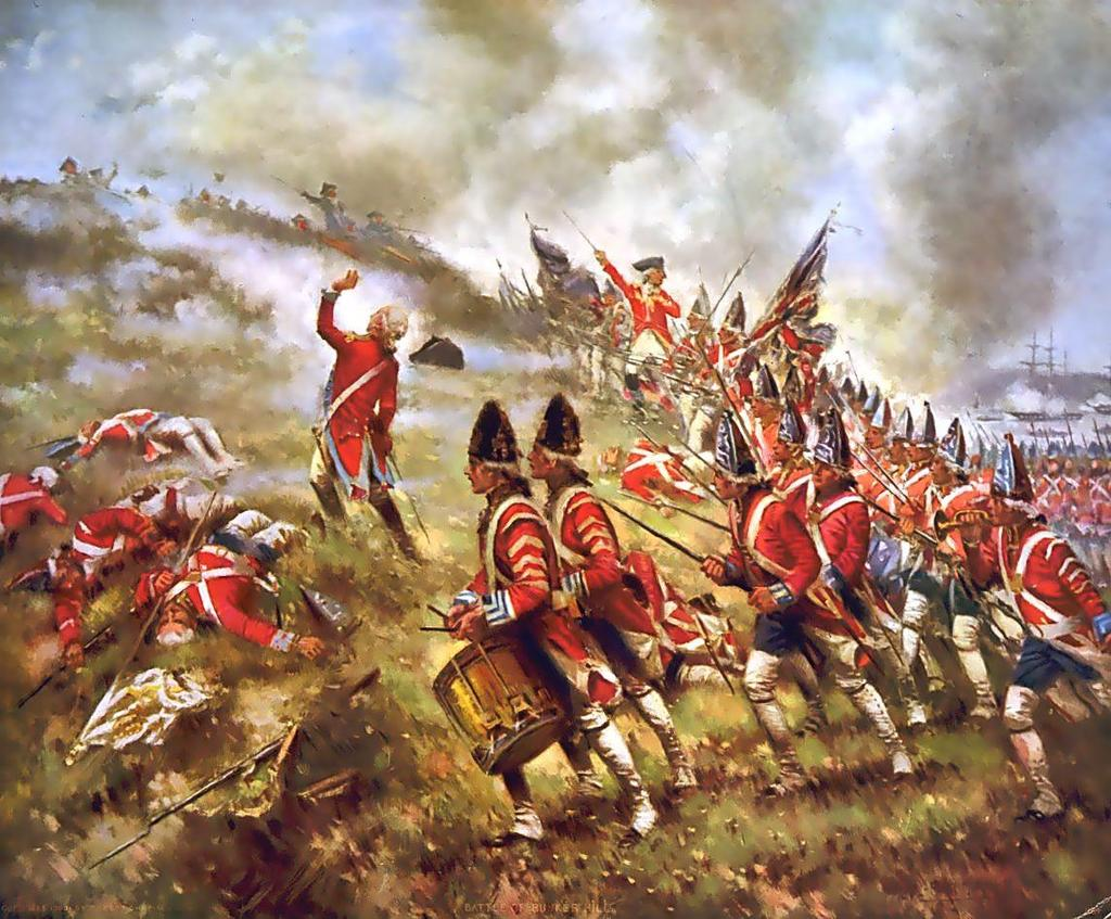 Battle of Bunker Hill June 17, 1775: Gen.