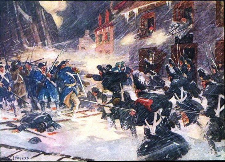 Battle of Quebec While waiting for a response from the King, American forces attacked Quebec and captured the Canadian town of Montreal,