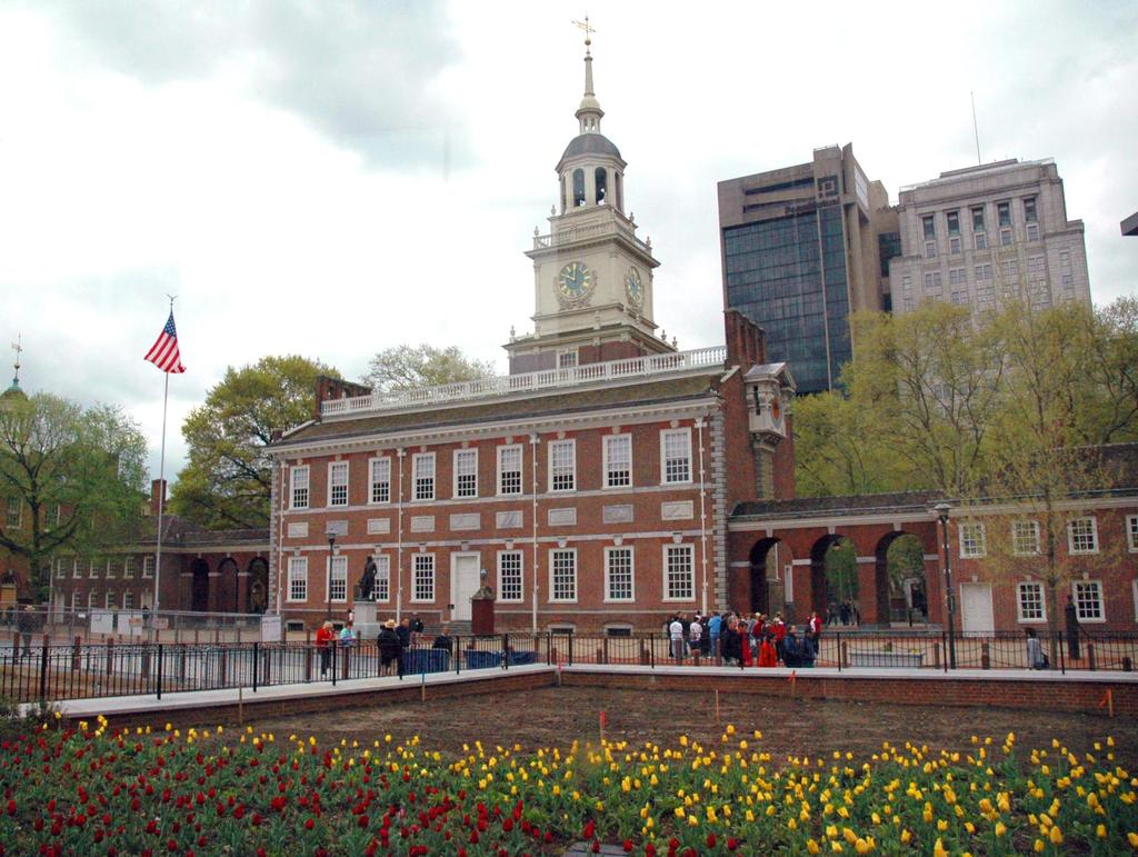 Independence Hall- Declaration of Independence,