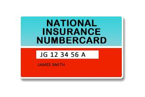 From 2011, the Department for Work and Pensions stopped issuing National Insurance cards, which have been replaced by a letter.