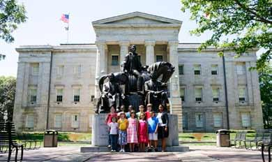 THE - EDUCATION Bringing The People s House to Life The North Carolina State Capitol Foundation sponsors lectures, children s history programs, concerts, exhibits and the docent program, allowing the