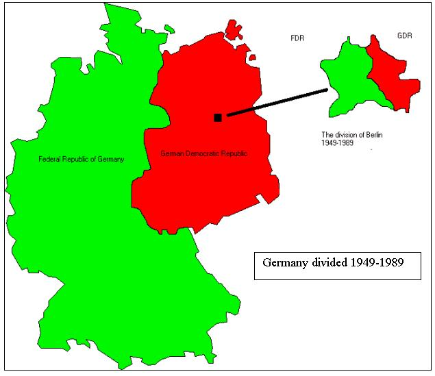SUPERPOWERS STRUGGLE OVER GERMANY Agreements from Yalta and Potsdam divided Germany and Berlin The U.