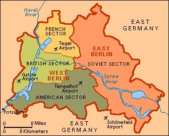 BERLIN AIRLIFT 1948 When the Soviets attempted to block the three Western powers from access to Berlin in 1948, the 2.