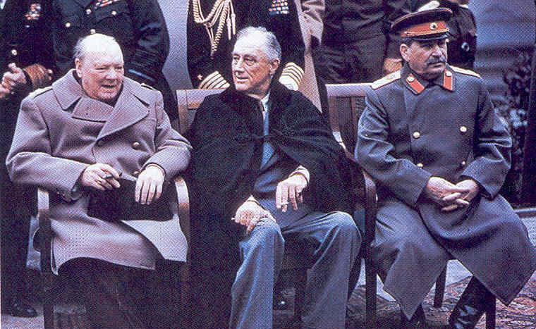 Yalta Conference At the Yalta Conference in February 1945, the leaders of America, England and Russia met.