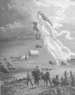 Manifest Destiny Mexican War (1846-1848), Mexican Cession The belief that the United States had the God-given right to own and control all land between the Atlantic and Pacific Oceans.