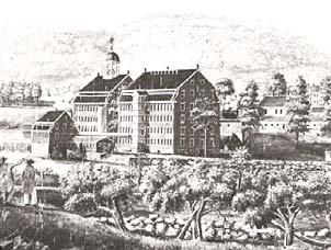 textile industry the mass production of woven cloth by machines 1790 Samuel Slater built the first spinning mill in America.