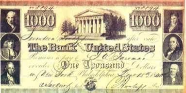 State banks issued paper money, which led to inflation.