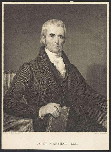 Marshall Court Chief Justice John Marshall presided over 1,127 decisions Supported national supremacy Marbury v.