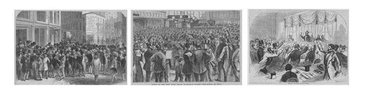 Panic of 1819 Unemployment went up, banks failed, people lost their property,