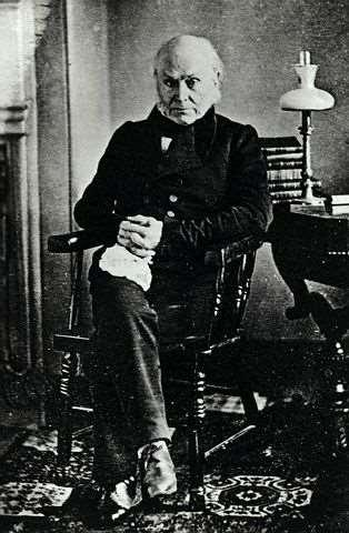 John Quincy Adams Important Secretary of State under Monroe: the Monroe Doctrine Controversial election :Corrupt Bargain of 1824